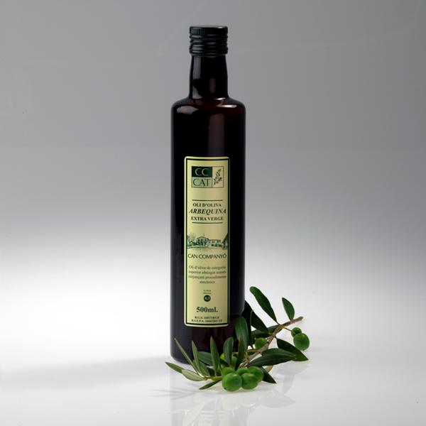 huile d 39 olive can company bo te de 6 bouteille verre de 500 ml can company online. Black Bedroom Furniture Sets. Home Design Ideas